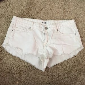 White urban outfitters shorts!